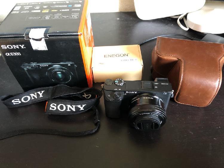 Sony a6300 y sony e pz 16-50mm f3.5-5.6 oss