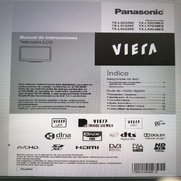 """Tv panasonic viera plasma 32"""""""