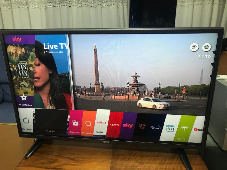 Televisión lg smart tv 32 pulgadas con su mando