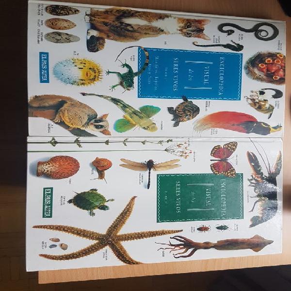 Enciclopedia de insectos , mamíferos, reptiles,y +