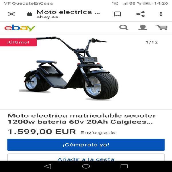 patinete electrico 1200w