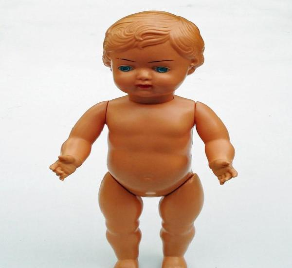 Antigua muñeca marca ok kader modelo b3513 boca abierta 33