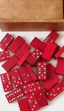 Antiguo juego de dominó
