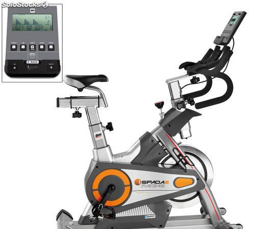 Bicicleta indoor i.Spada II Racing Bh Fitness: Equipada con