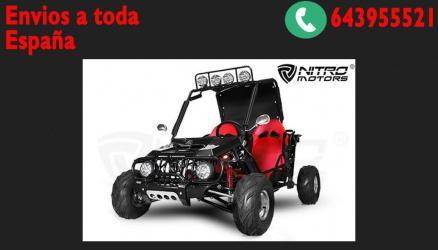 Buggy 125cc 4t r7 semiautomatico 2 plazas