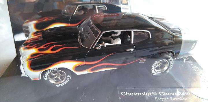 Carrera evolution chevrolet chevelle super stocker ss 45,