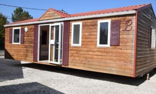 Casa móvil de madera 3 dormitorios 9 x 4 m