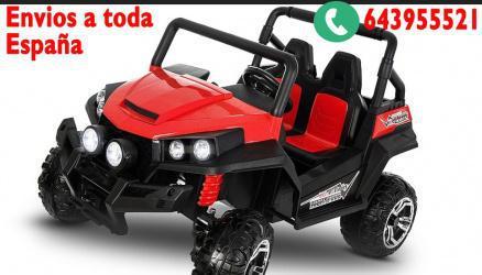 Coche eléctrico buggy golf atv 2x45w