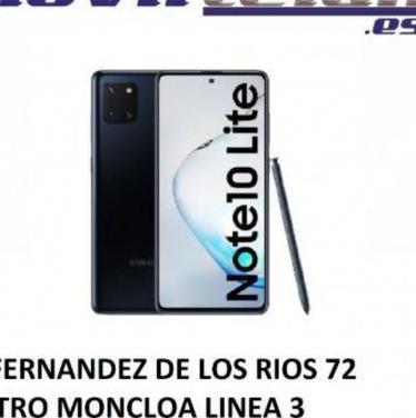 Galaxy note 10 lite 128gb negro nuevo precinta...