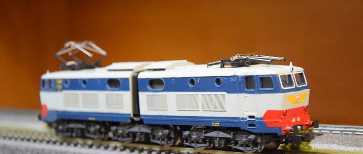 Lima h0 locomotora eléctrica s/656 023, de la f.s.