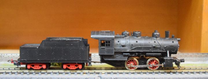 Lima h0 locomotora vapor 020 alco 1930, referencia 3006.