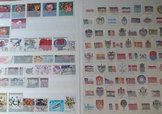 Lote mas de mil sellos