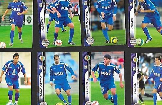 Megacracks getafe c.f. temporada 2006 / 07