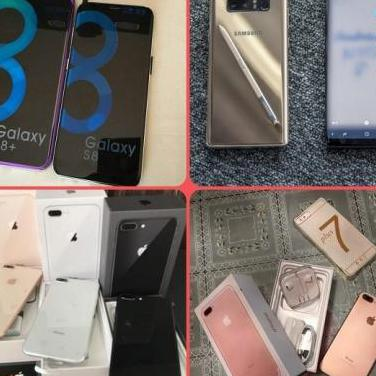 Moviles galaxy s9 plus iphone x, note 8* * * *