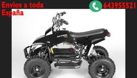 Mini quads eco anaconda 800w 36v 3 etapas r6 c/ luz