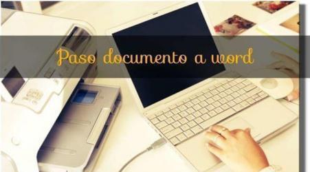 Paso documentos a ordenador