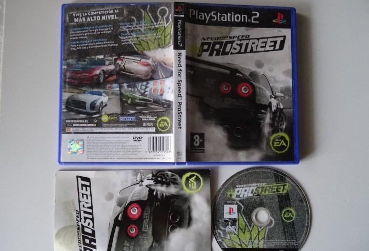 Play station ps2 - need for speed prostreet español