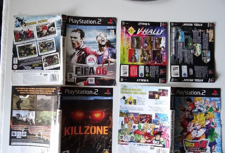 Play station ps2 y ps1 carátulas originales de juegos