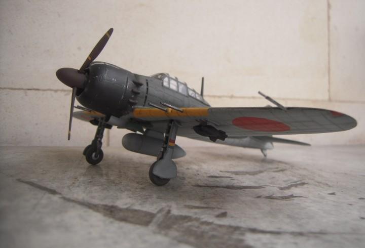 Zero a6m5 zeke 1/48 maqueta montada y pintada