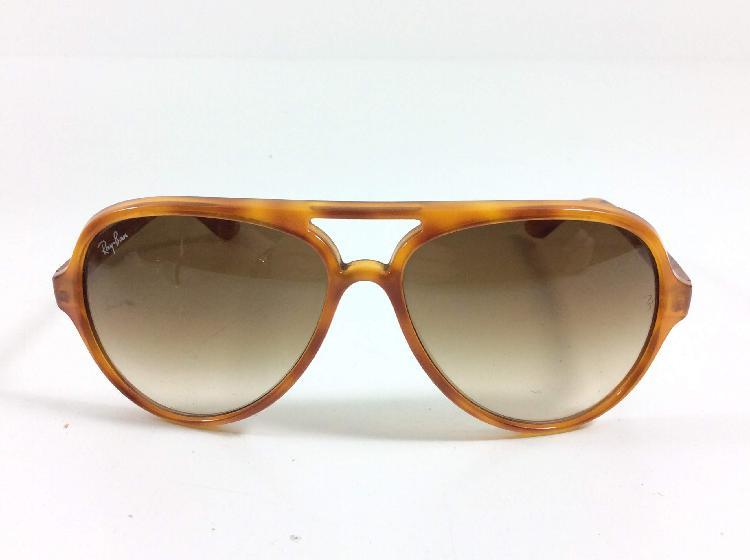 Gafas de sol caballero/unisex rayban doradas cristal marron