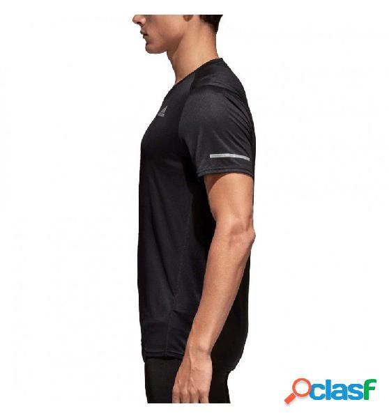 Camiseta M/c Running Adidas Run Tee M 2xl Negro 1