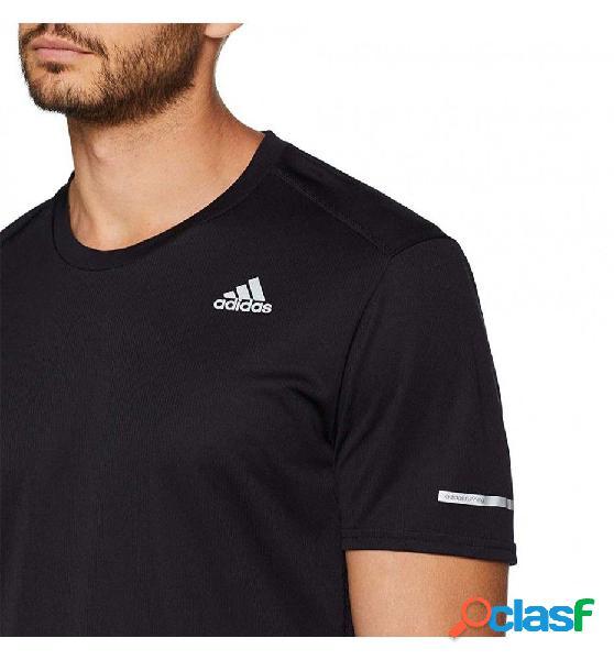 Camiseta M/c Running Adidas Run Tee M 2xl Negro 2