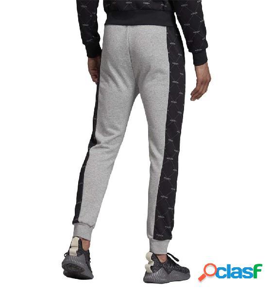 Pantalón chándal casual adidas m core fav tp gris l