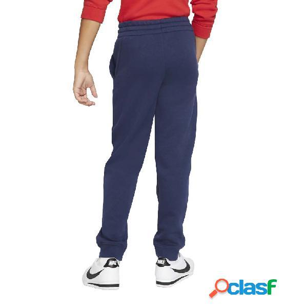 Pantalón chándal casual nike b nsw club flc jogger pant azul marino m
