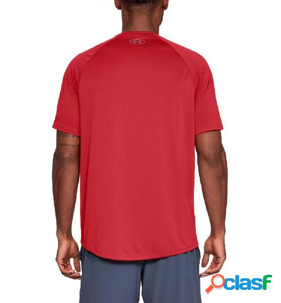 Camiseta fitness hombre under armour ua tech 20 ss tee m rojo