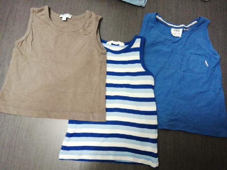 3 camisetas 18 a 24m. por separado tb