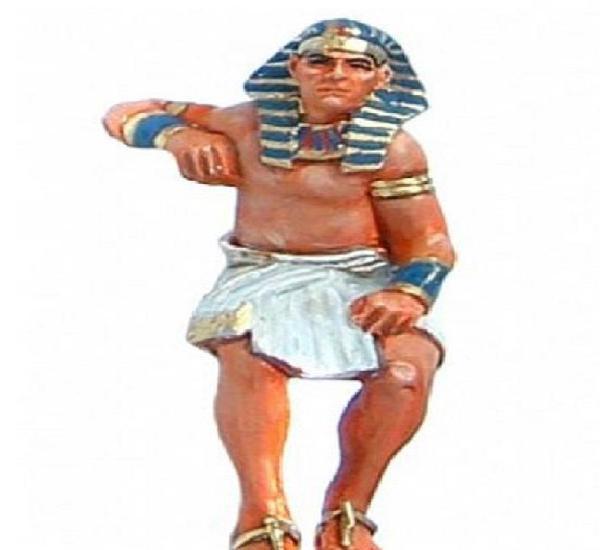 Aeg020 figuras de plomo antiguo egipto delprado