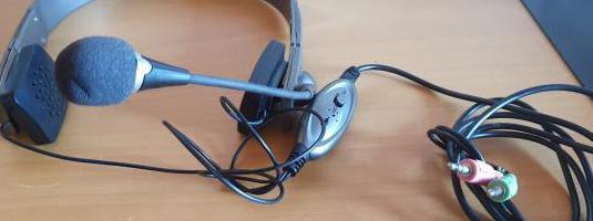 Auriculares con microfono ngs