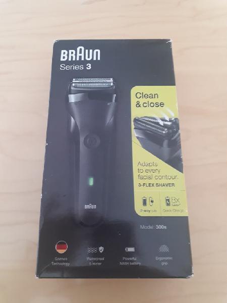 Afeitadora eléctrica braun series 3