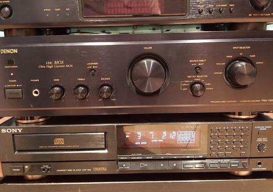 Amplificador denon 1500r. alta gama