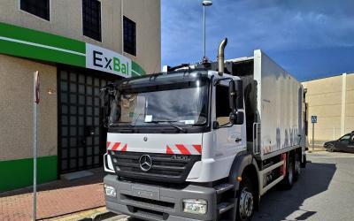 Camion recogida basura mercedes