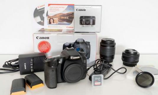 Canon eos 70d, 2 objetivos y accesorios