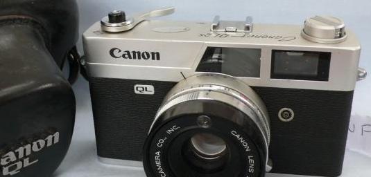 Cámara canon canonet ql25