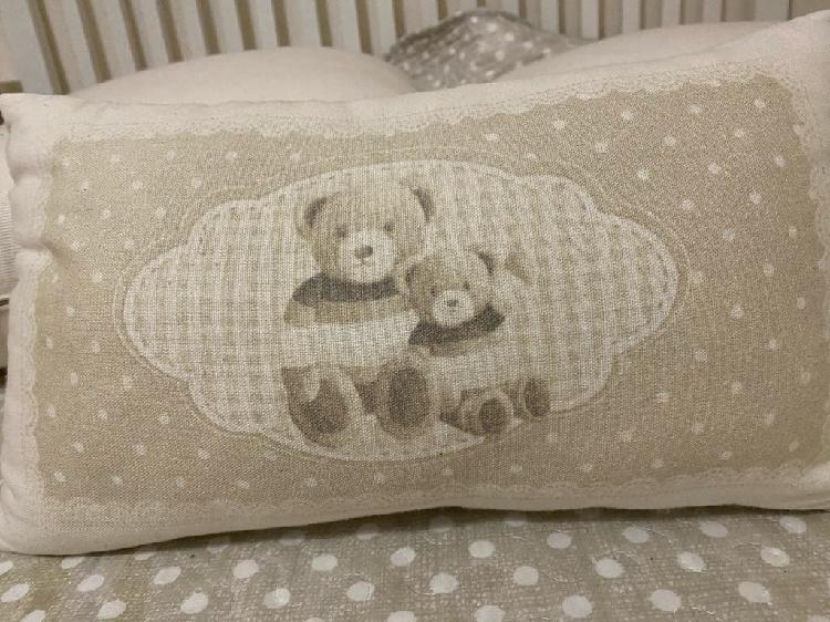 Cojín cama de ositos