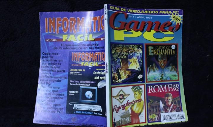 Games pc nº1 revista catalogo videojuegos años 90 retro