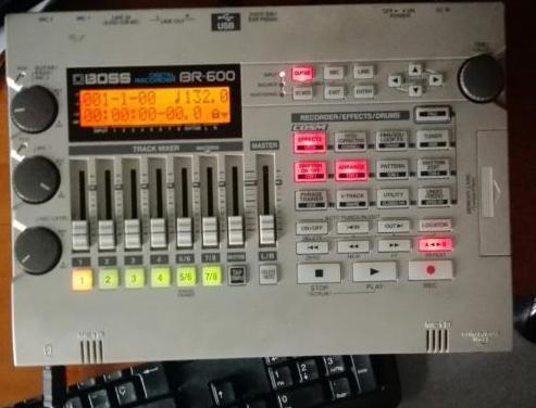 Grabadora digital multipistas boss br600