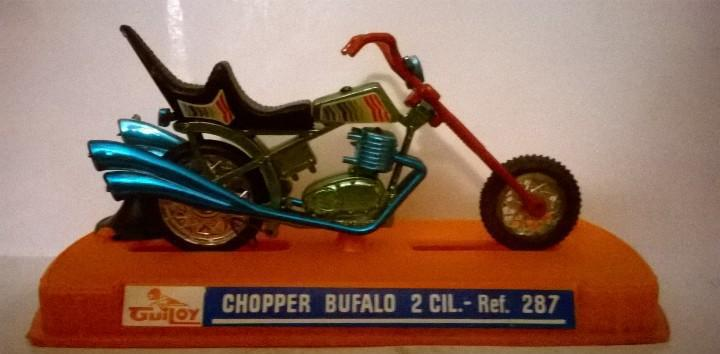 Guiloy moto chopper bufalo 2 cil