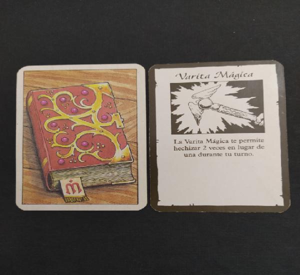 Hero quest carta de tesoro de reto - varita mágica