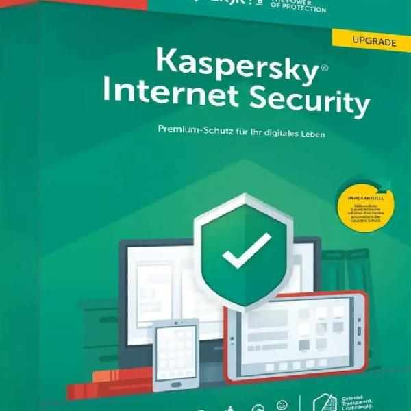 Kaspersky internet security 2020 1 año