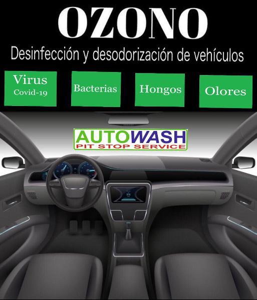 Lavado y desinfección de vehículos