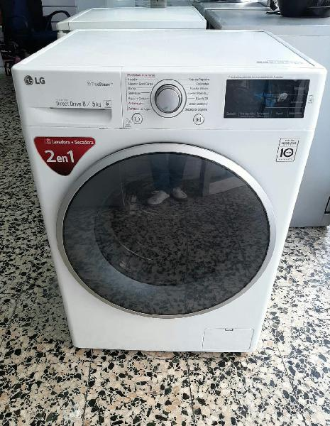 Lg lavadora 8kg con secadora 5kg /a+++