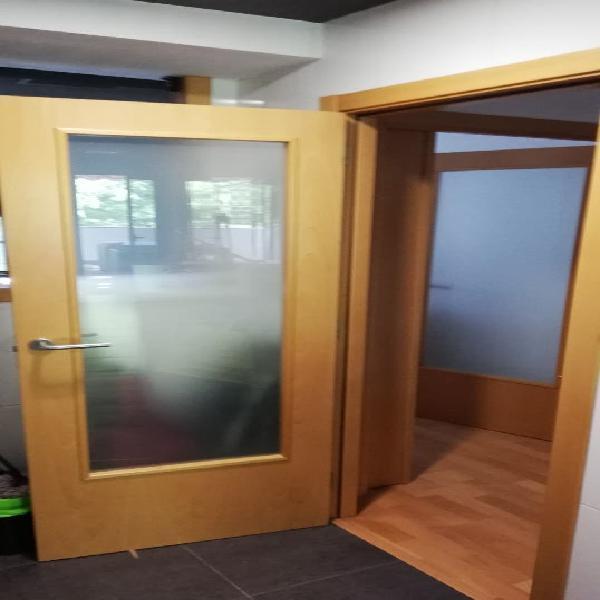 Lote completo 16 puertas interiores madera haya