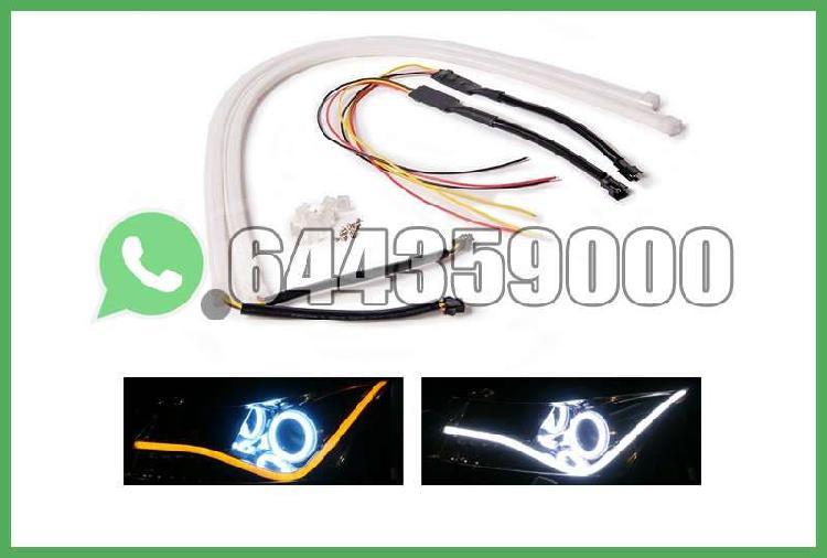 Luz diurna flexible blanca / ámbar 60cm