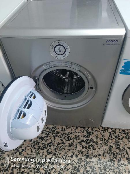 Lavadora indesit 6kg/a+ gris