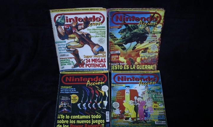Lote revistas antiguas micro hobby años 90