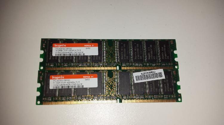 Memoria ram hynix memoria ram 1gb pc3200u-30330